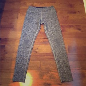 Beyond Yoga Space-Dye light grey leggings